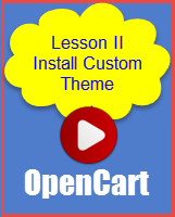 Lesson II Install Custom Theme