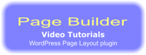 PageBuilder Video Tutorials